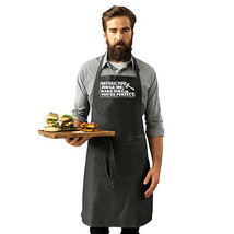 Funny Novelty Apron Kitchen Cooking - Before You Judge Me Make Sure Your... - $11.79+