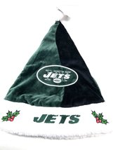 NFL Embroidered Plush Santa Hat By Forever Collectibles - $16.99