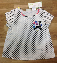 First Impressions Girls' Dot Pocket Graphic T-Shirt, Angel White, Size 24 Months - $8.90