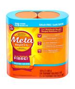 MetaMucil Multihealth Fiber Sugar Free Smooth Texture Orange 228 Doses 1... - $48.36