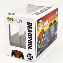 Funko Pop! Marvel Pride 2021 Rainbow Deadpool #320 Vinyl Figure image 3