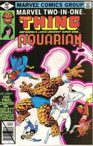 Marvel Two-In-One Comic Book #58 The Thing and Aquarian, Marvel 1979 FINE+ - $2.25