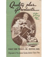 Stanley Home Products Catalog Vintage Quality Plus Products For Family a... - $9.89