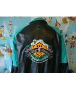 Vintage 1996 NBA All Star Game San Antonio Spurs Leather Jacket M - $376.19