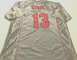 Tampa Bay Buccaneers Mike Evans #13 NFL NFC Nike Silver Gray Red Jersey 52 - $59.39