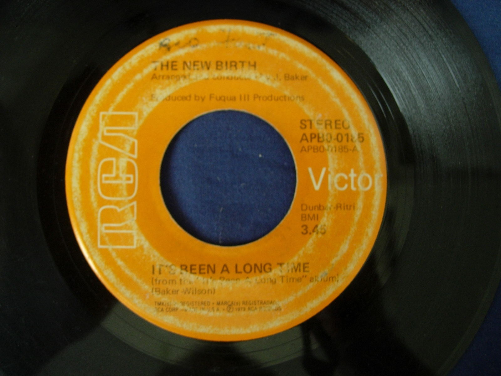 New Birth - Keep On Doin' It / It's Been A Long Time -  RCA 0185