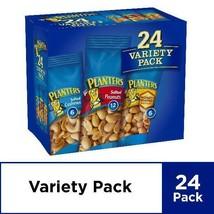 Planters Nut 24 Count-Variety Pack, Salted Peanuts, Honey Roasted Peanut... - $22.03