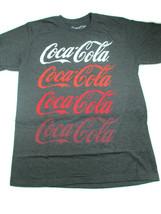 Coca-Cola 4-Ways Heather Gray Short Sleeve Tee Large- BRAND NEW - $14.84