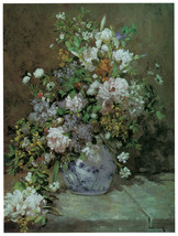 "16x20""Poster on Canvas.Home Room Interior design.Flower bouquet vase.6459 - $46.75"