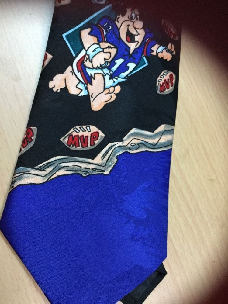 a3e2cdd4e1cf 1993 Hanna Barbera FRED FLINTSTONE BARNEY RUBBLE Necktie Tie 58