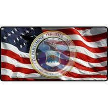 american flag air force transparent insignia military logo license plate - $28.49
