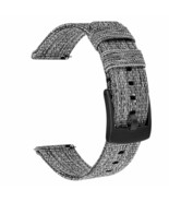 Samsung Galaxy Watch Active 40mm Watchband Woven Nylon Stainless Steel C... - $27.66