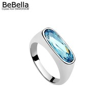BeBella luxury crystal ring for finger with Crystals from Swarovski fash... - $19.37