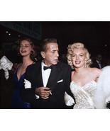 Marilyn Monroe, Humphrey Bogart and Lauren Bacall, Colorized, an Archiva... - $719.95+