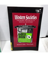 Western Societies: Primary Sources I Social History - $4.01