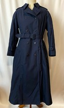 USAF Air Force Blue Trench Rain Coat w/Removable Liner All Weather Women... - $89.99