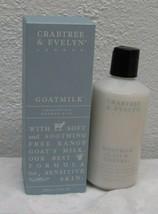 Crabtree & Evelyn ~ Goatmilk Comforting Shower Milk ~ 8.5 OZ  - $24.74