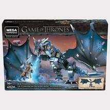 Mega Construx Game of Thrones Ice Viserion Showdown Building Set - $84.13