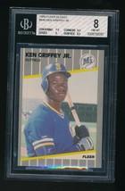 1989 Fleer Glossy Ken Griffey Jr. ROOKIE RC #548 BGS 8 NM-MT+  - $60.00