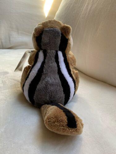 "Ganz Webkinz 9"" Chimpmunk Plush stuffed toy HM217. B2 Used nice Kids Doll Toy image 3"