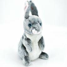2000 Ty Beanie Baby Hopper the Bunny Rabbit Retired Beanbag Plush Doll Toy image 4