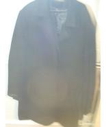 Bacharach Men's Cashmere Wool Blend PeaCoat Winter Jacket Size Large L 4... - $82.99