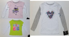Nike Toddler Girls Long Sleeve T-Shirts 3 Choices Sizes 2T, 3T or 4T NWT - $11.89