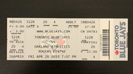 Vladimir Guerrero Jr. MLB Debut Ticket Stub Toronto Blue Jays 4-26 Vlad UNUSED - $65.44