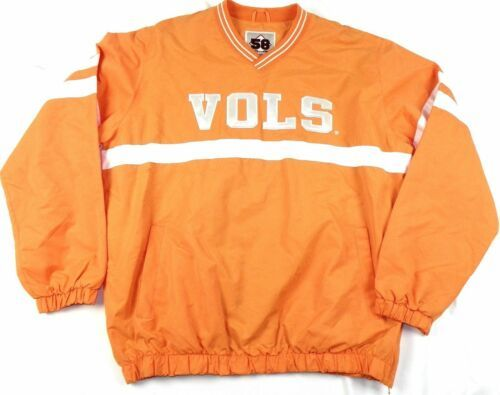 Men's Small Tennessee Vols Coaches Jacket Lightweight Pullover G-III Volunteers