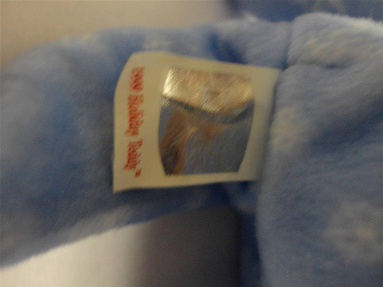 TY Beanie Baby Bears Huggy 2000 Clubby II 1999 and Holiday Teddy 1999 Lot of 3