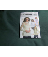 BUTTERICK B4854 MISSES TOP SEWING PATTERN SZ 6 8 10 12 - $5.75
