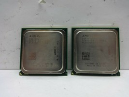 Lot of (2) AMD Opteron 4180 Six-Core CPUs @ 2.60GHz 6MB L3 Cache OS4180W... - $14.99