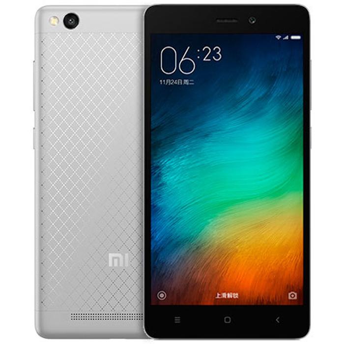 "Xiaomi redmi 3 octa core grey 2gb 32gb 5.0"" hd screen android 5.1 4g smartphone"