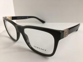 New Versace 4332 Olive 53mm Eyeglasses Frame Italy #2 - $199.99