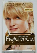 LOreal Superior Preference Hair Dye Color Lightest Natural Blonde 9 1/2 NB - $10.99