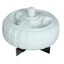 Dock Edge Inflatable Dock Wheel - 18 - White - $213.98