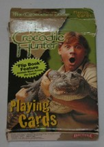 Crocodile Hunter Playing Cards Bicycle Flip Book Feature Complete 52 Car... - $14.52
