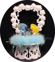 Tropical Fish deep sea Ocean Wedding Cake topper top fishing Funny - $29.60