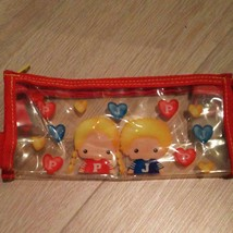 Sanrio Vintage Patty And Jimmy 1998 Pouch Pen Case Rare New 90s - $41.72