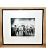 William H Englander Paris Subway Black White Gelatin Silver Print Photog... - $195.00