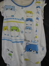 Elton John Aids Foundation Pajamas Small Cute Baby doll Two Piece image 2