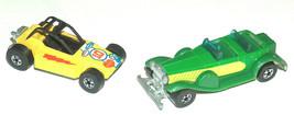 (2) 1975 1976 Hot Wheels Rock Buster Dune Buggy, 1931 31 Green Doozie Bl... - $17.73