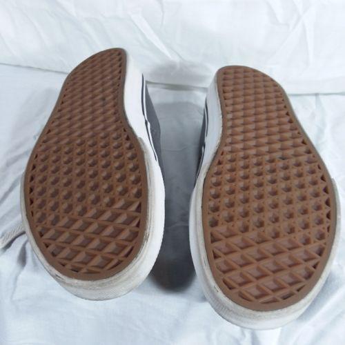 Vans Gray Classic Sneakers Shoes Men's Size 6 Women's Size 8 EUR 38.5 Lace Up image 7