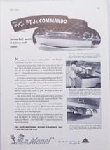 1947 Print Ad Higgins 34' P-T Jr. Commando Boats Monel Metals New York,NY - $9.87