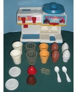 Vtg. Fisher Price Fun w/Food #2118 McDonald's Soda Fountain Comp/EXC++-N... - $115.00