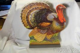 Bethany Lowe Large Turkey Centerpiece Dummy Board no. RL9182 image 2