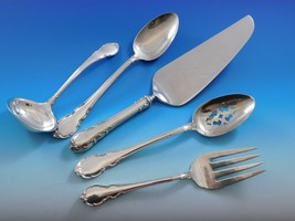 Modern Victorian by Lunt Sterling Silver Essential Serving Set Large 5-piece - $279.00