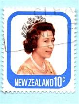 1977 New Zealand Used Postage Stamp - Queen Elizabeth II -  Scott # 648 - $3.99