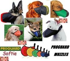 SOFTIE DOG NO BITE MUZZLE Mesh EZ Quick-Fit Adjustable Safer Comfortable... - $14.68+