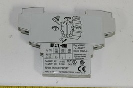 Eaton, NHI11-PKZ0 Standard Auxiliary Contact, New XTPAXSA11 1pc image 2